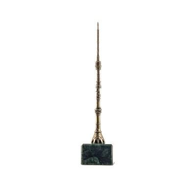Статуэтка Останкинская телебашня. 120мм. Квадрат
