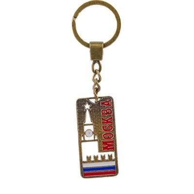 Брелок с вырезом Москва