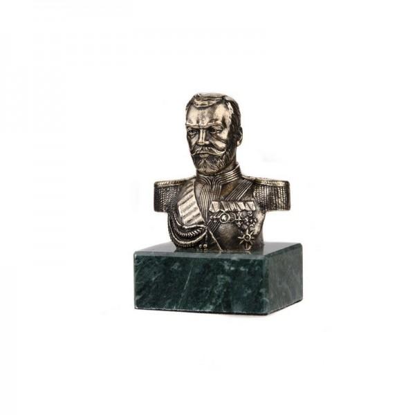 Бюст Николай II