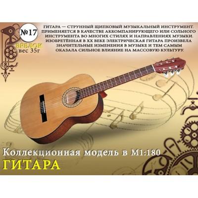 "Форма №17 ""Брелок. Гитара""(1:18)"