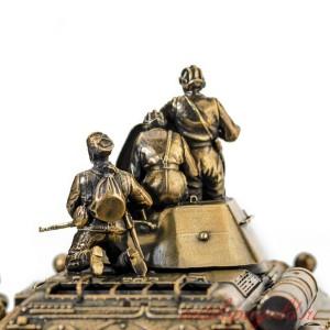 ДИОРАМА ТАНК Т-34/76 Фото на память 1/35