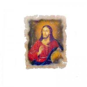 Икона Иисус на ониксе
