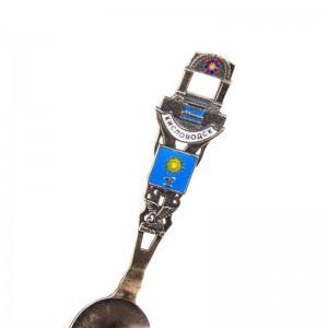 Коллекционная сувенирная ложка Кисловодск. Бронза