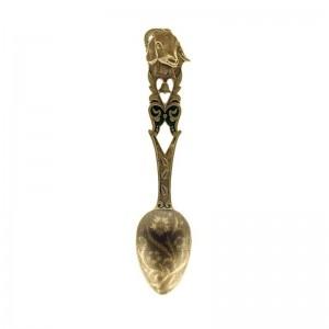 Коллекционная сувенирная ложка Коза
