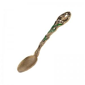 Коллекционная сувенирная ложка Петух