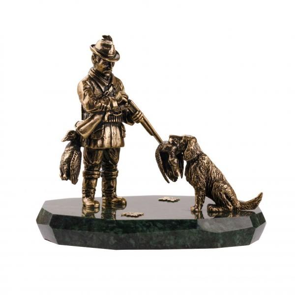 Композиция Охотник с собакой