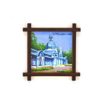Магнит-рамка маленькая с холстом Пушкинская галерея