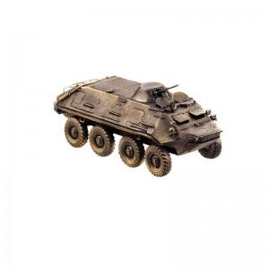Модель бронетранспортёра БТР-60(1:72)