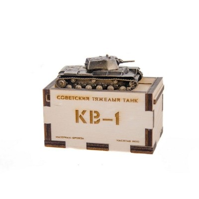 Модель танка КВ-1 обр.1940г(1:100)