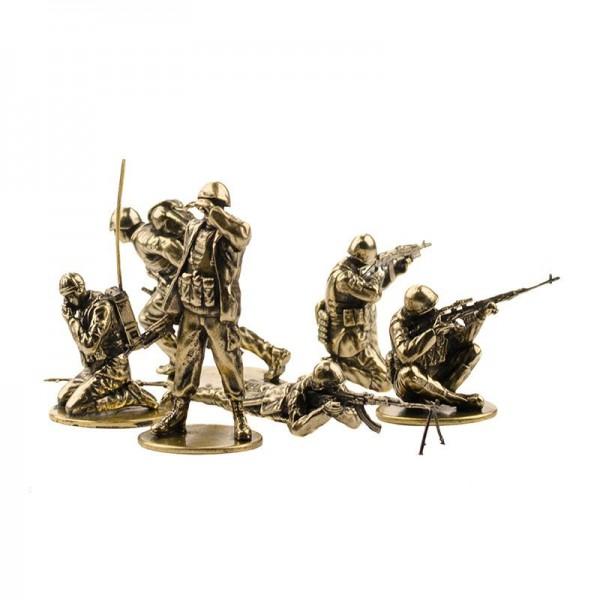 Набор солдатиков Советские десантники в Афганистане(6шт, 1:35)