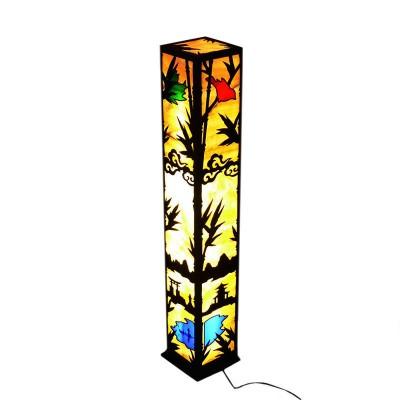 Напольный светильник из оникса Япония