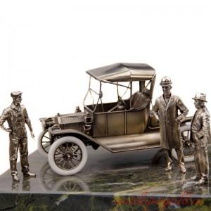 ДИОРАМА Генри Форд и модель Т 1/24