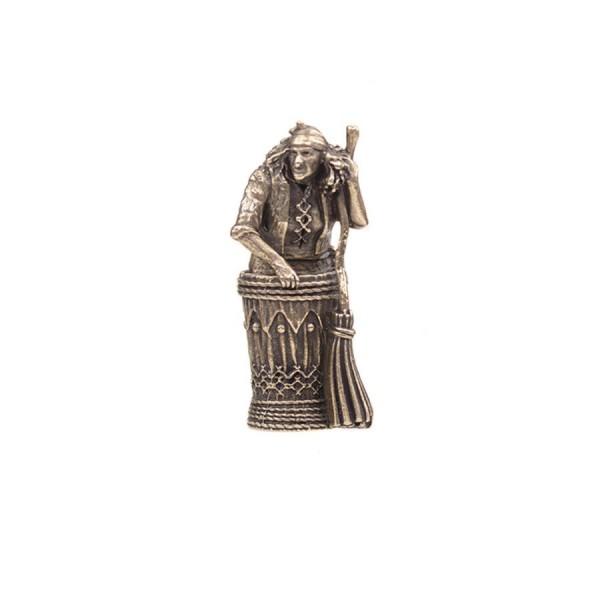 Статуэтка Баба Яга в ступе