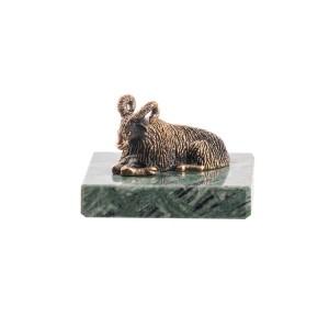 Статуэтка Баран на камне