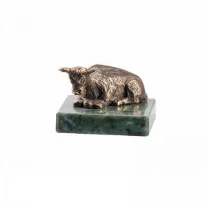 Статуэтка Бык на натуральном камне