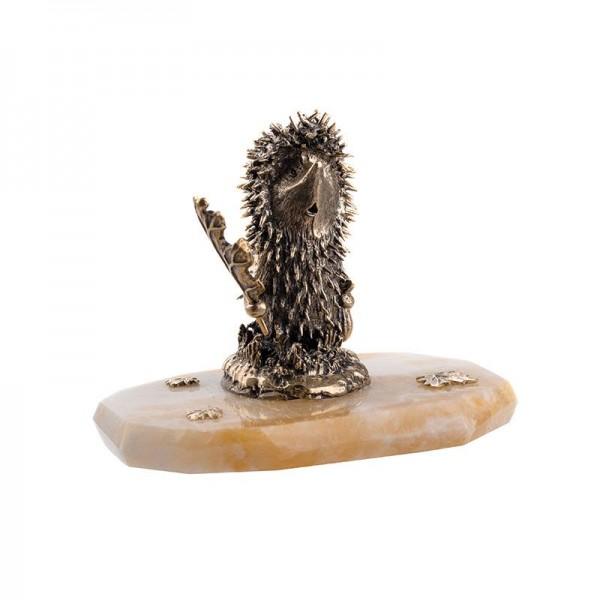 Статуэтка Ёжик на камне