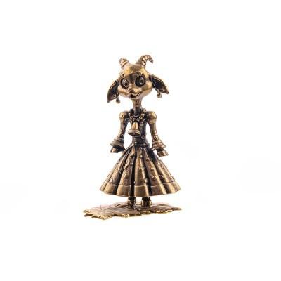 Статуэтка Коза на листике