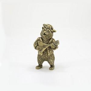 Статуэтка Медведь с балалайкой