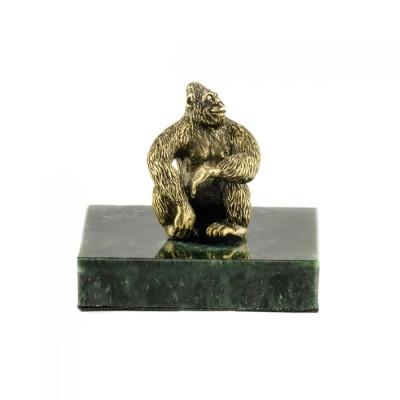 Статуэтка Обезьяна на натуральном камне