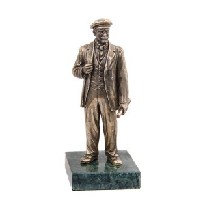 Статуэтка В.И. Ленин. Большой на камне