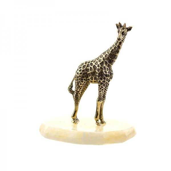 Статуэтка Жираф большой на камне