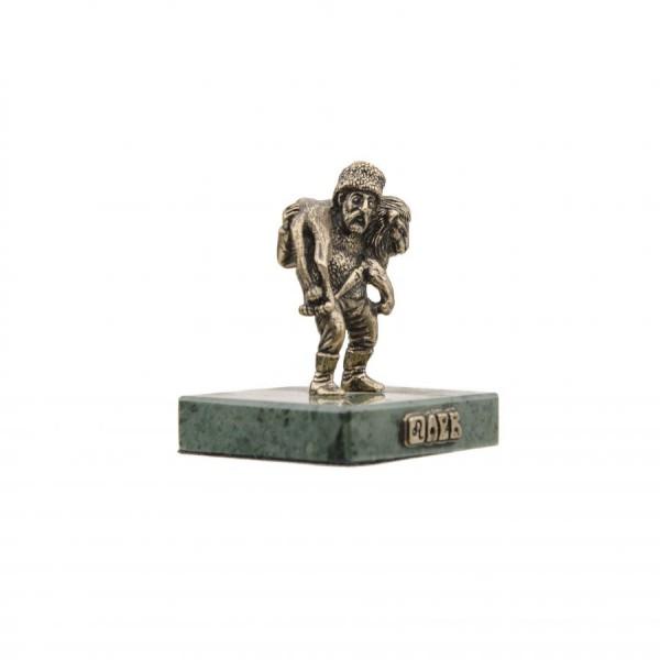 Статуэтка Знак зодиака Лев на камне