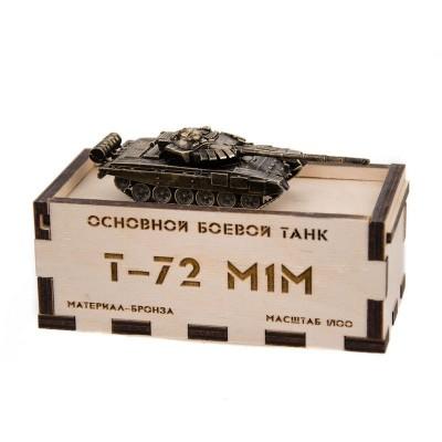 Танк Т-72М1М(1:100)